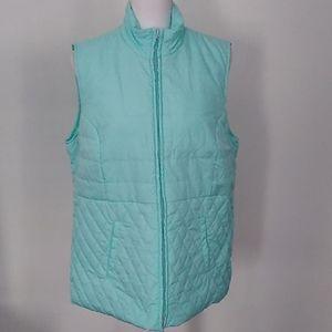 Kim Rogers Light Mint Green Jacket Vest
